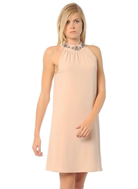 Vero Moda Mini Elbise Oranj